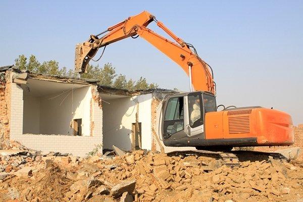 manutenzione escavatore