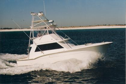 Charter Boat Sunrise - Sunrise Charters, Destin, FL, Fishing