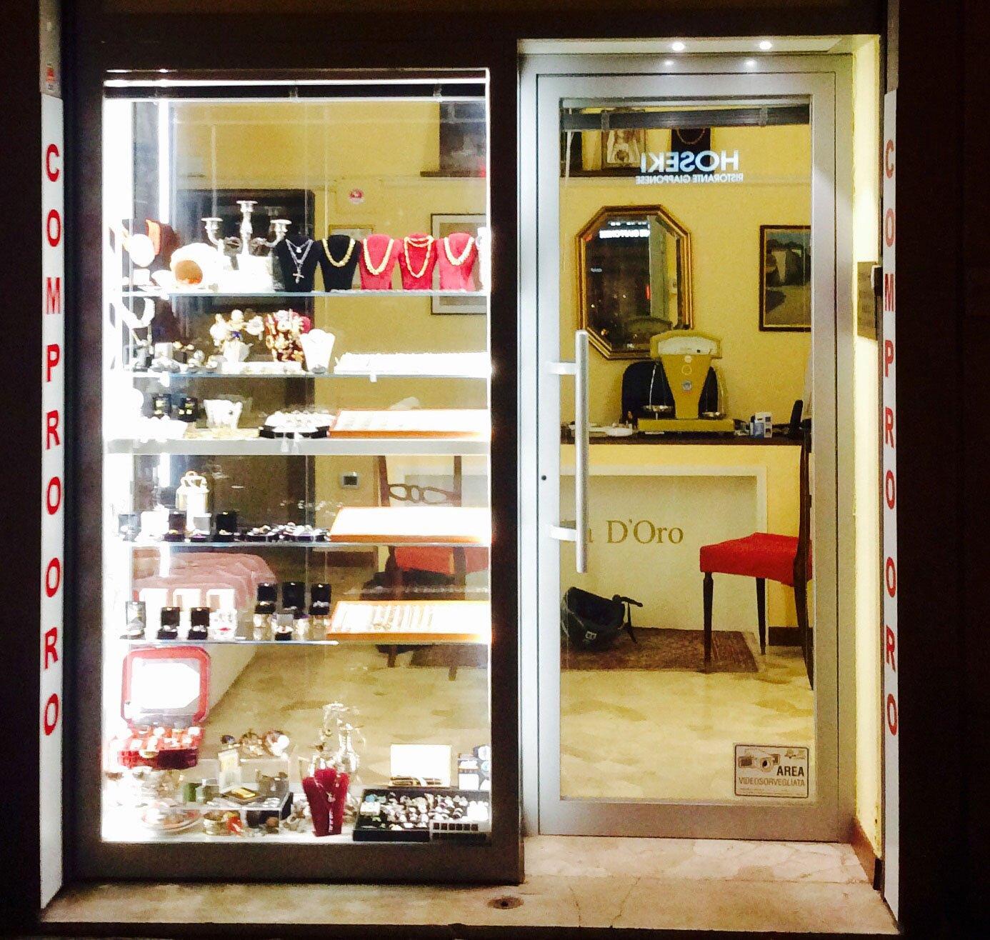 Esterno gioielleria a Firenze