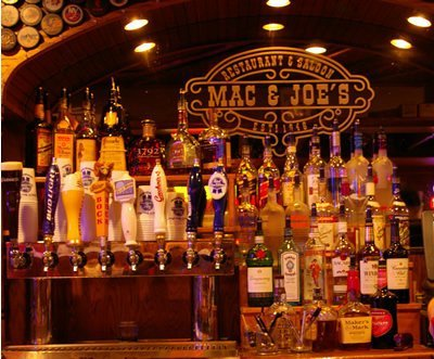 Full bar great beer selection Mac and Joes Oxford Ohio