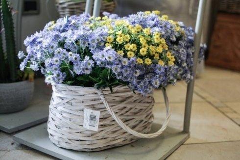 cesti di fiori