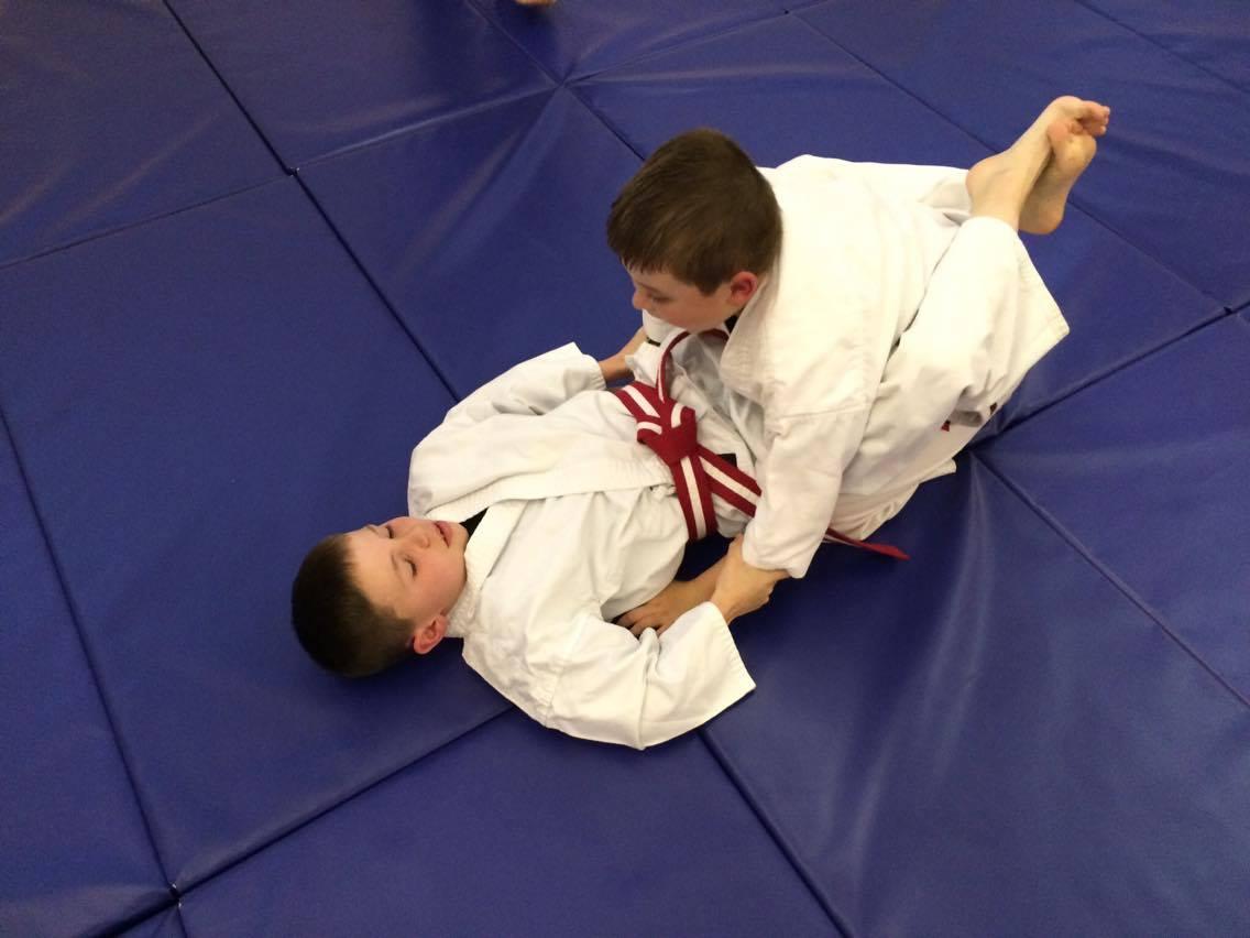 Kids Ju Jitsu ground techniques