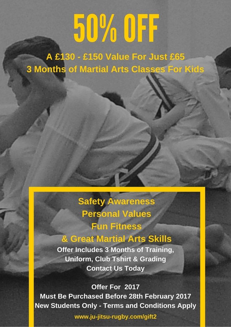 Kids Martial Arts Offer