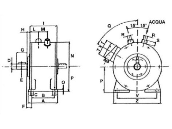 D.G.R. continuous brake with adjustable torque Constructions