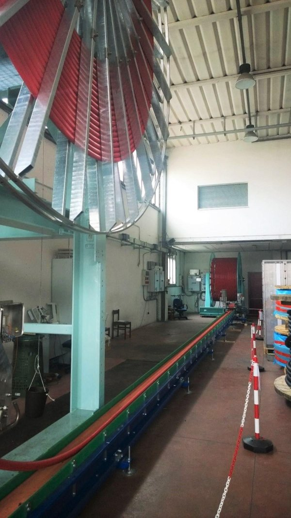 Application on cable winding machine