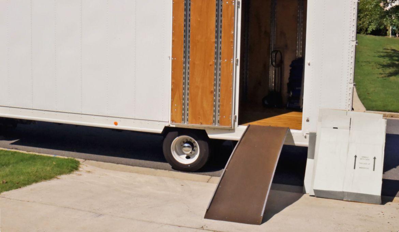 Rampa di accesso al camion