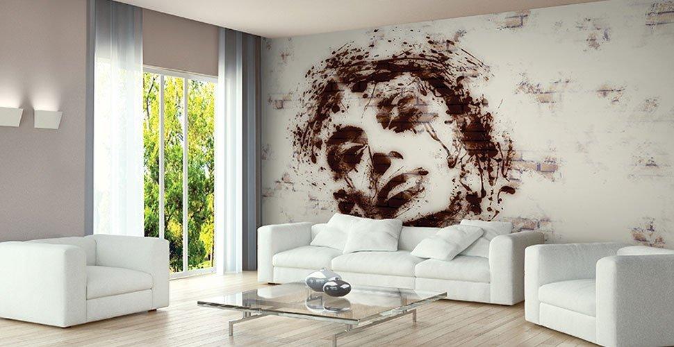 Carta da parati personalizzata torino 2mv grafica - Pitture particolari per interni decorazioni ...