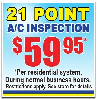 21 Point AC Inspection Houston, TX