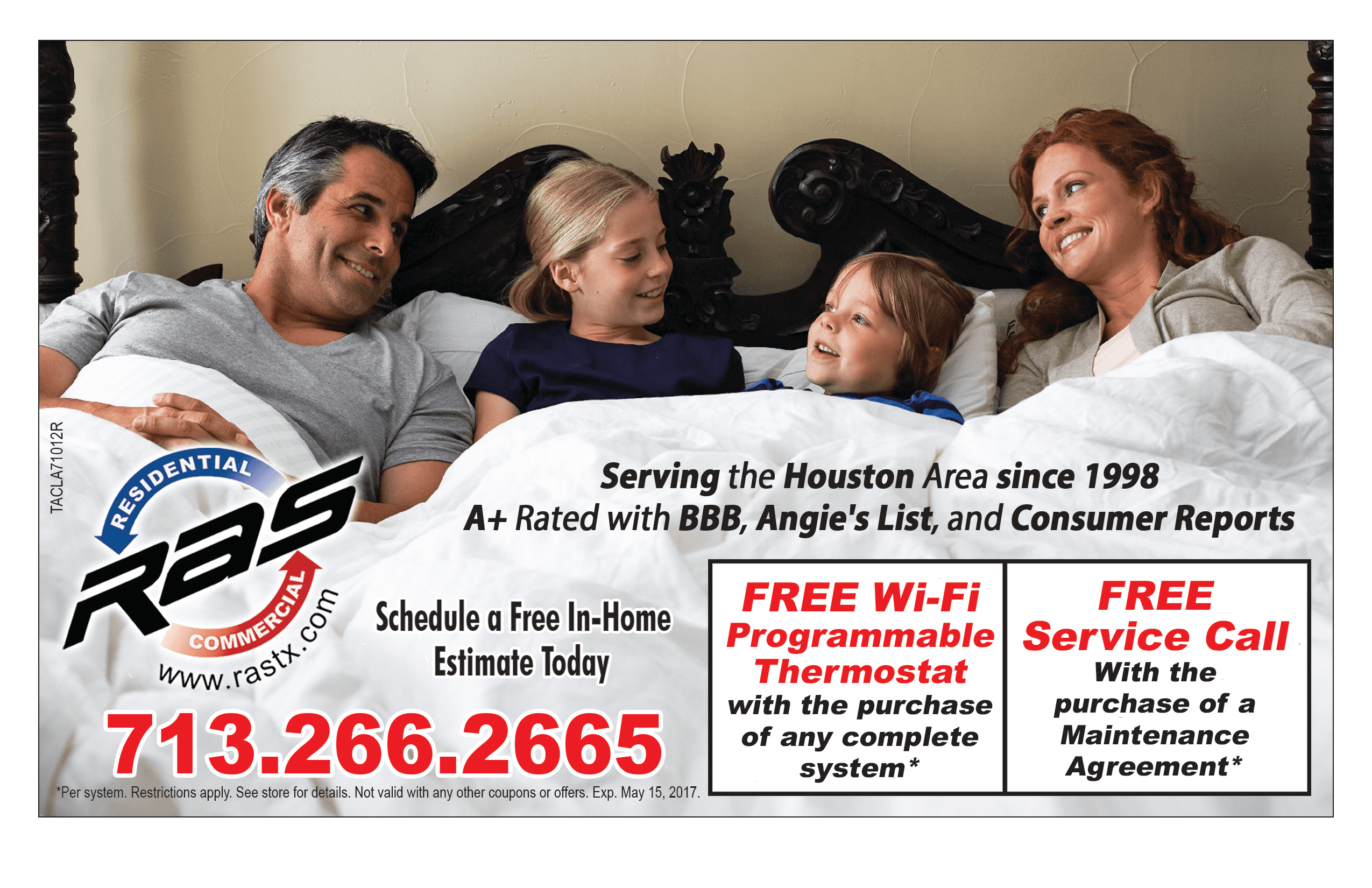 AC & Heating Repair and Installation Coupons Houston, TX