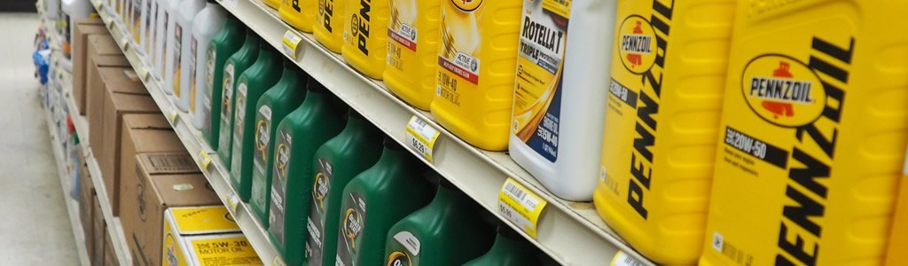 Engine oil and automotive supplies