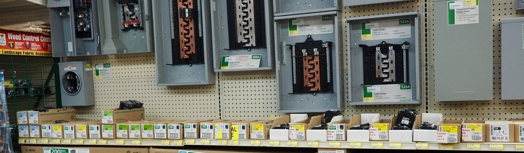 Electrical Supplies and boxes