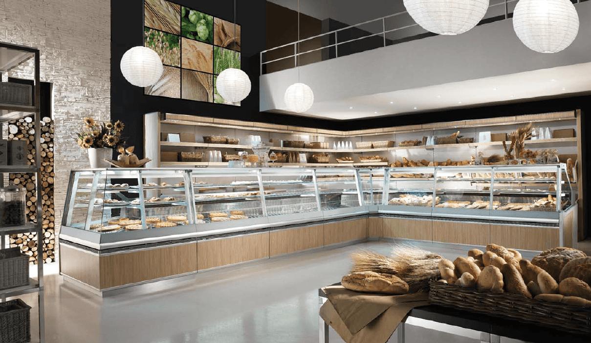 Arredamenti per negozi montelepre palermo di lorenzo for Arredamento bar palermo