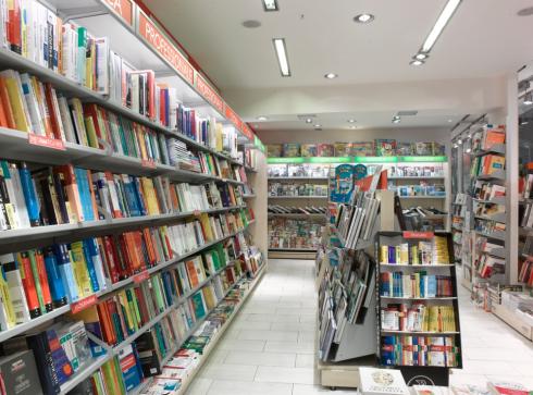 Arredamento presso libreria