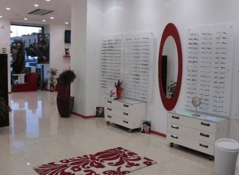 Arredamento negozio di ottica