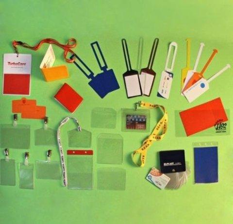 Porta Badge E Etichette Bagaglio