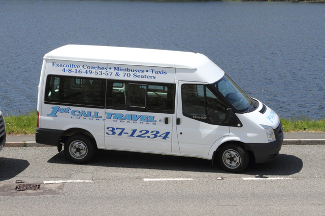 For further information about our minibuses, call 01685 37 1012
