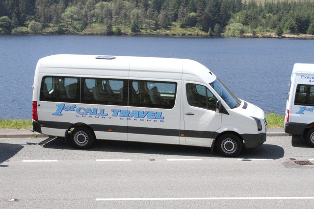 To hire a minibus, call 01685 37 1012