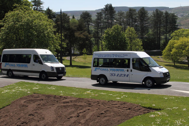 Hire a minibus for your next event. Call 01685 37 1012