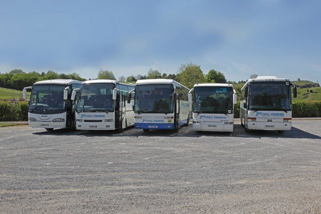To book your coach, call 01685 37 1012