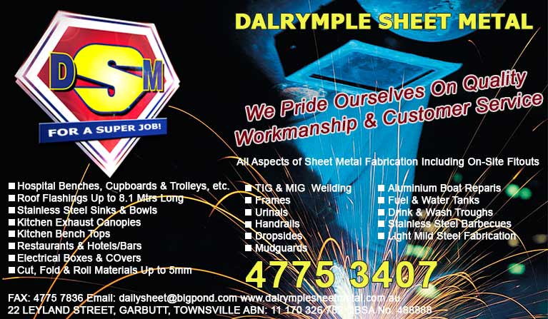 dalrymple sheet metal advertisement banner