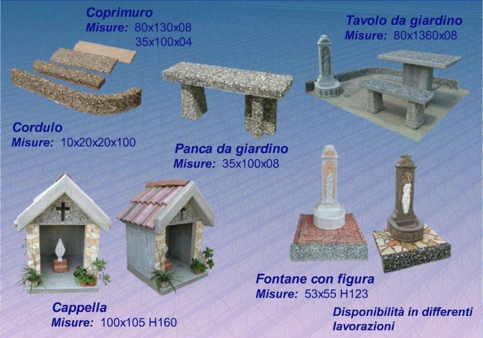 manufatti in cemento facciavista