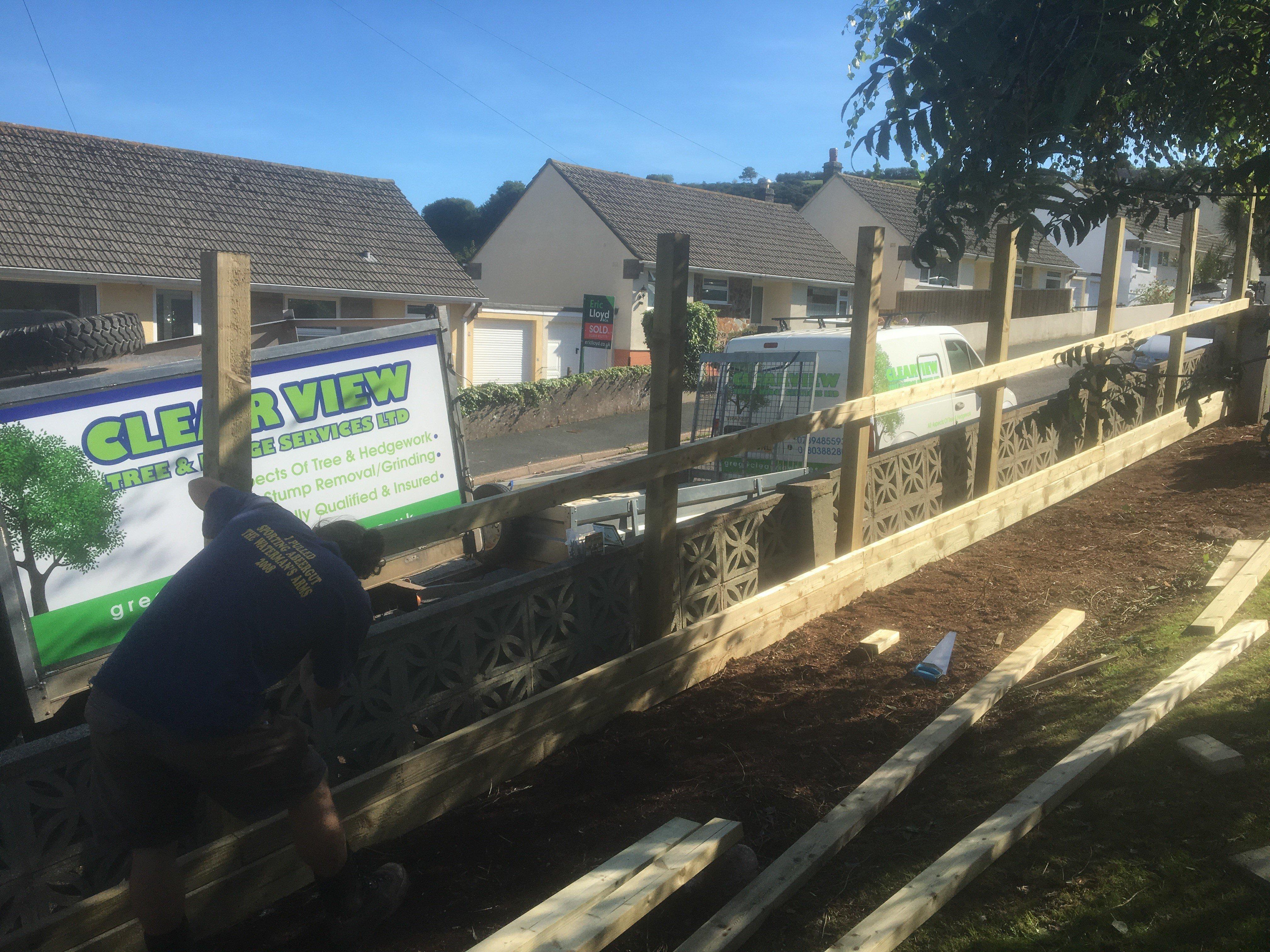 garden area fencing