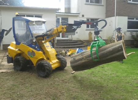 Timber Grab on Rotator
