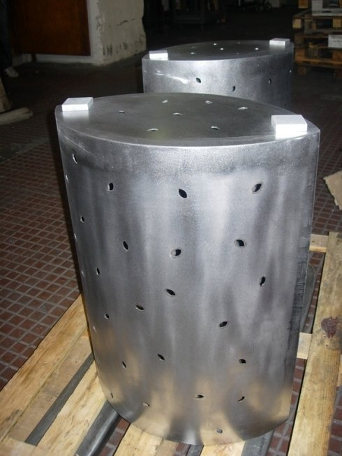 realizzazione e lavorazione acciaio