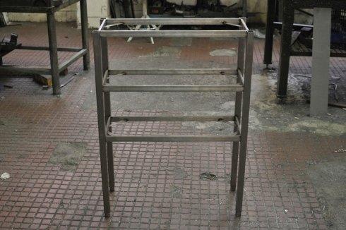 struttura realizzata in acciaio