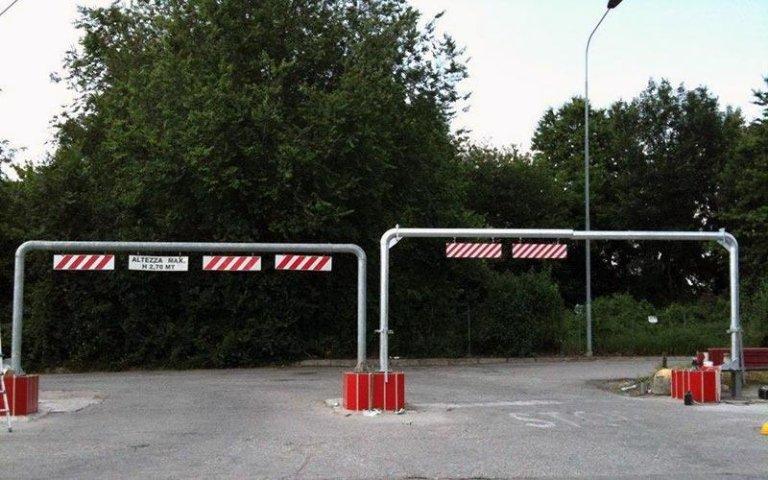 dissuasori parcheggio