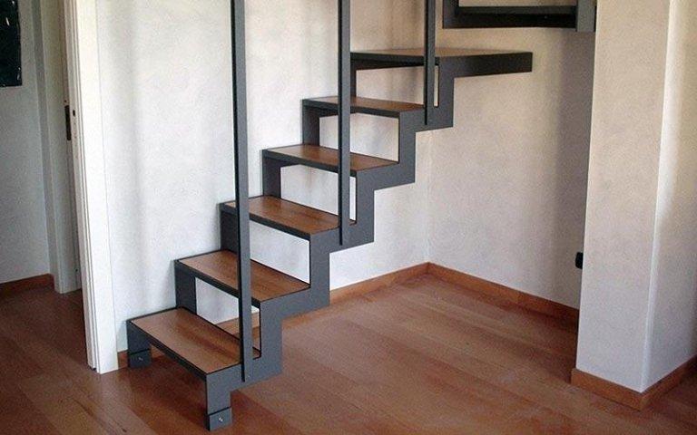 scala ferro legno