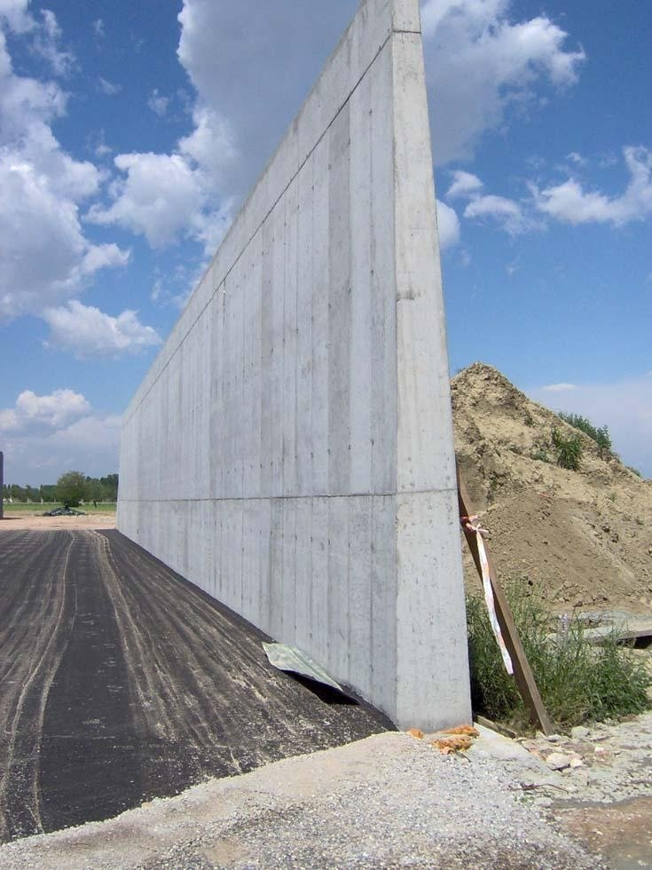 Muro trincea