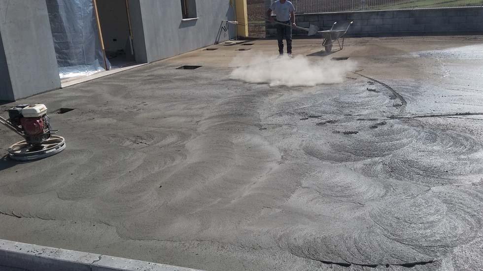 Pavimentazione in Cls