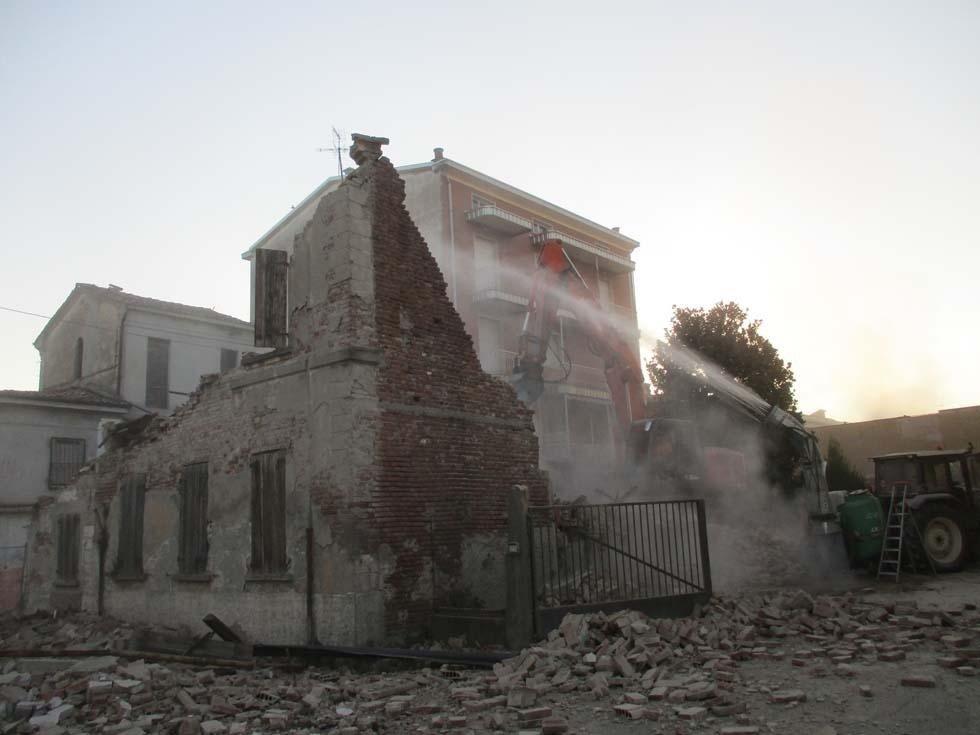 Ex zuccherificio demolizione