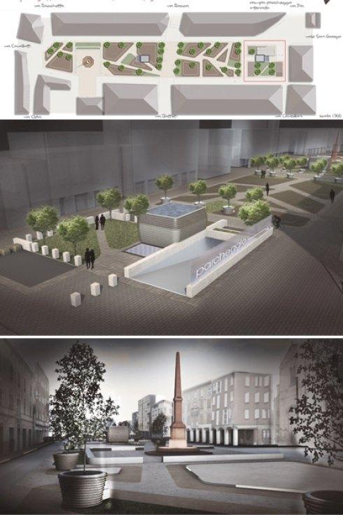 Concorso di idee per la riqualificazione di Piazza Martiri Partigiani a Sassuolo (MO).