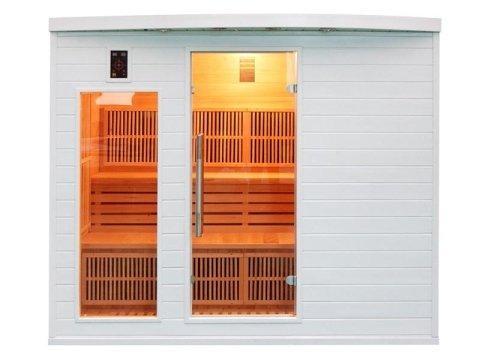 sauna soleil blanc cinque