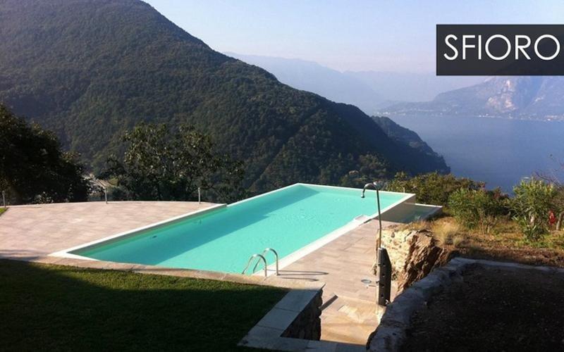 piscina privata a sfioro milano