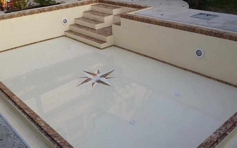 rivestimento personalizzato piscina