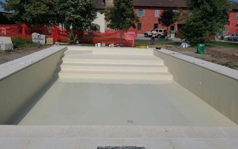 rivestimenti per piscina bianco