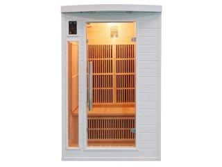 sauna soleil blanc due