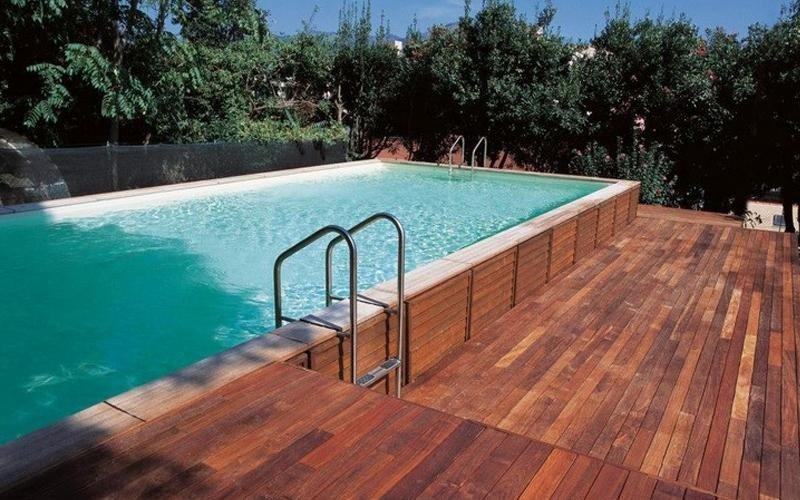 installazione piscina fuori terra milano