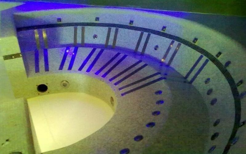 costruzione vasca centro termale milano