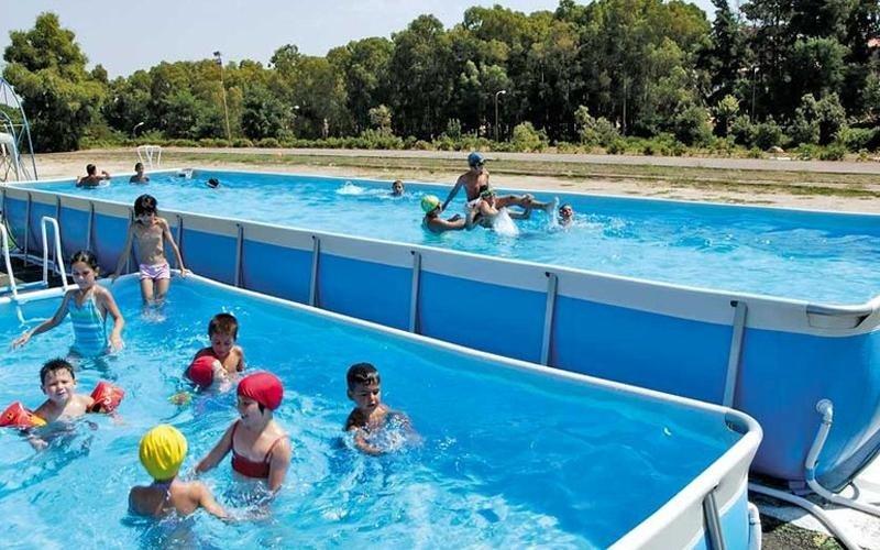 piscine fuori terra per centri sportivi milano