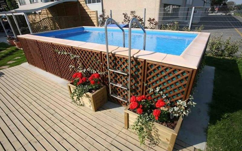 piscina fuori terra milano