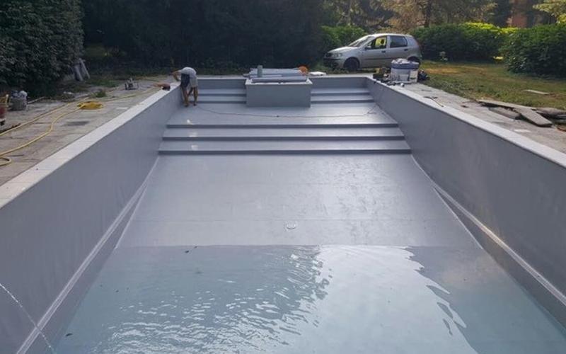 realizzazione rivestimenti pvc per piscine