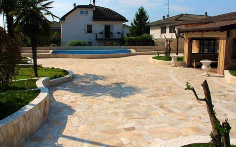 realizzazione pavimentazioni pietra milano