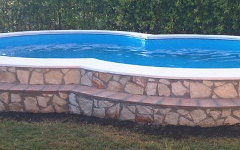 piscina in muratura milano