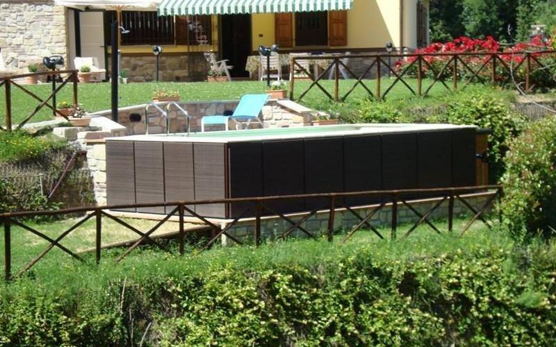 piscina fuori terra privata milano