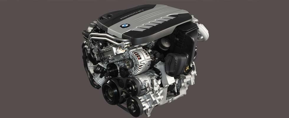 Un motore di un'auto
