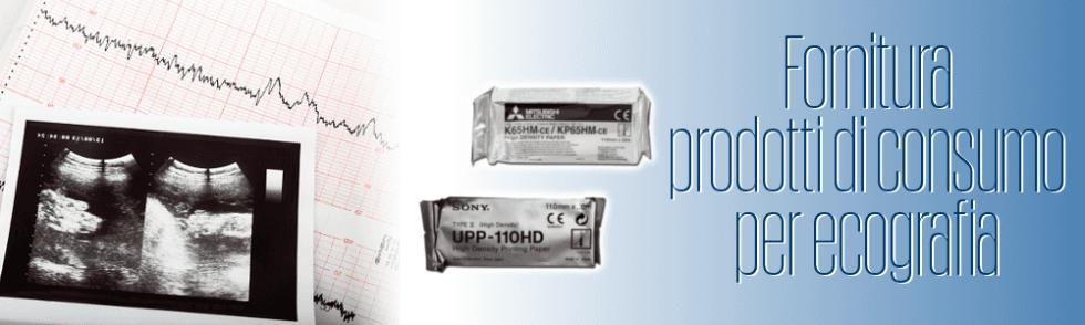 Fornitura prodotti di consumo per ecografia